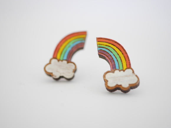 Mintcloud Earrings - Rainbow