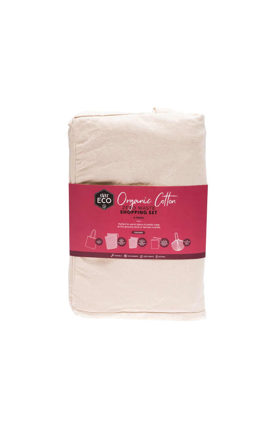 Ever Eco - Organic Cotton Zero Waste Set