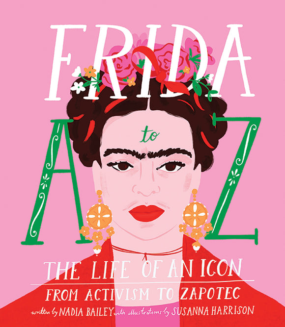 Frida A-Z book from have you met charlie? a unique gift shop in adelaide south australia
