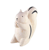 Pole Pole Carved Wooden Animals - Farm Animals