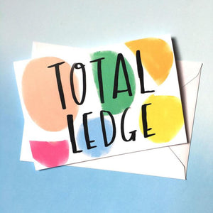 Nicola Rowlands Card - Total Ledge