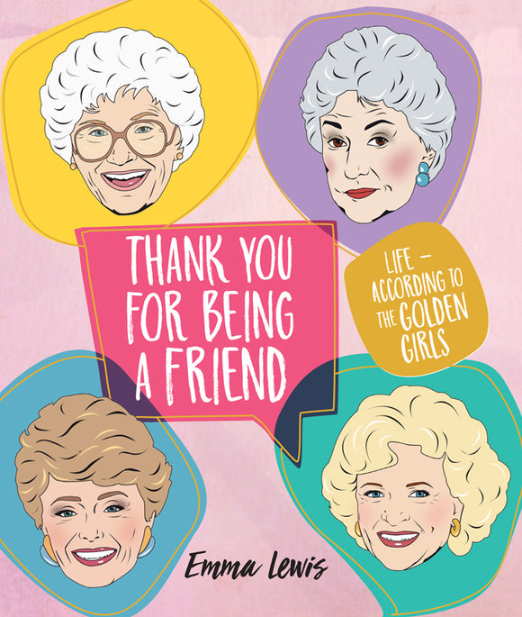 golden girls thank you for being a friend book from have you met charlie? a unique gift shop in adelaide, south australia