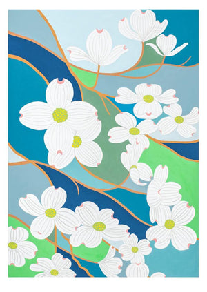 Claire Ishino Print - The Dogwood Trees