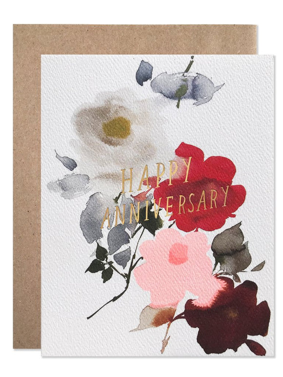 Hartland Brooklyn Card - Dealtry x HB Happy Anniversary Watercolour