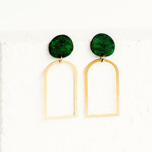 Linda Marek Designs Brass Earrings - Arches Earring