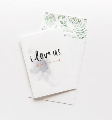 Emma Kate Co Greeting Card - I Love Us