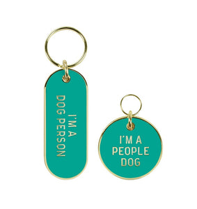 dog lady cat lady person pet tag by genuine fred from have you met charlie a unique gift shop in adelaide south australia