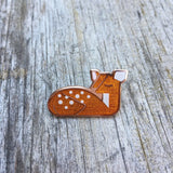 fawn deer Amar and Riley cute enamel animal pins from have you met charlie a gift shop with australian unique hand made gifts in adelaide south australia