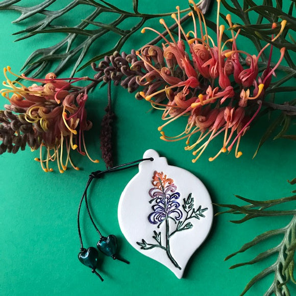 RJ Crosses Christmas Ornament - Aussie Botanicals Various