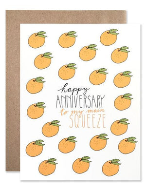 Hartland Brooklyn Card - Happy Anniversary Squeeze