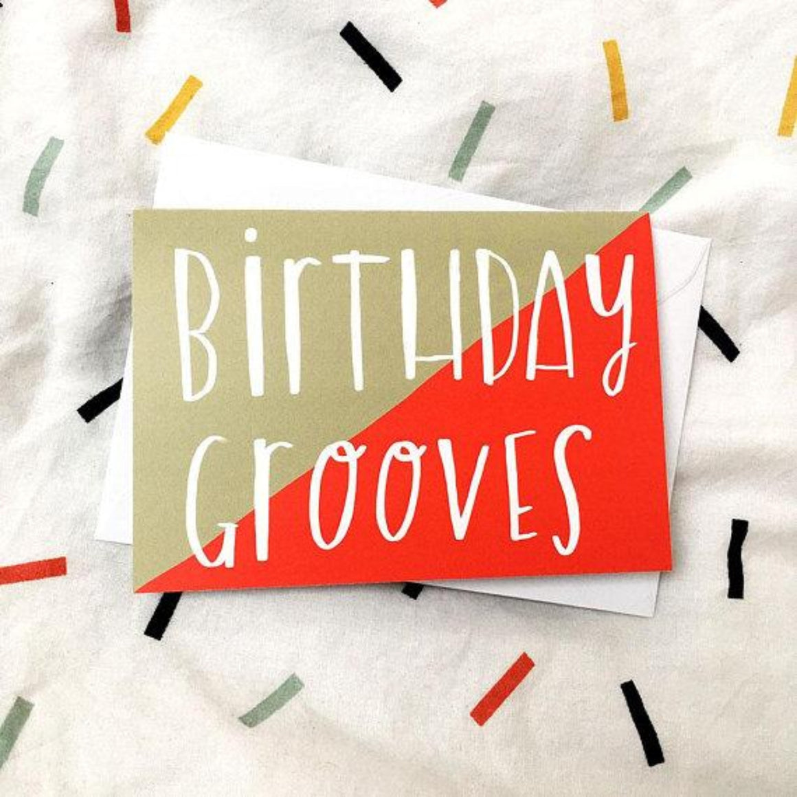 Nicola Rowlands Card - Birthday Grooves
