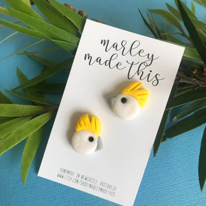 Marley Made This - Australian Cockatoo Studs