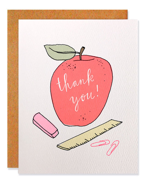 Hartland Brooklyn Card - Thank you Teacher