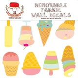 ice cream missy minzy cute wall sticker decor from have you met charlie a gift shop with australian unique hand made gifts in adelaide australia