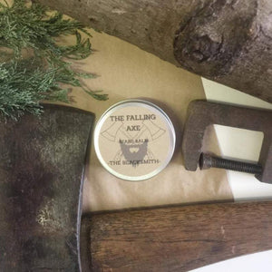 The Falling Axe - The Blacksmith Beard Balm from have you met charlie a gift shop with Australian unique handmade gifts in Adelaide South Australia