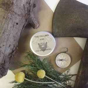 The Falling Axe - The Bushranger Beard Balm from have you met charlie a gift shop with Australian unique handmade gifts in Adelaide South Australia
