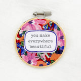 tropical summer neck wrap heat bag by wili heat bags from have you met charlie a gift shop with Australian unique handmade gifts in Adelaide South Australia