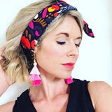 karla cola handmade bright printed headband from have you met charlie a gift shop in adelaide selling unique australian gifts