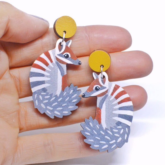 Pixie Nut & Co Dangles- Numbat