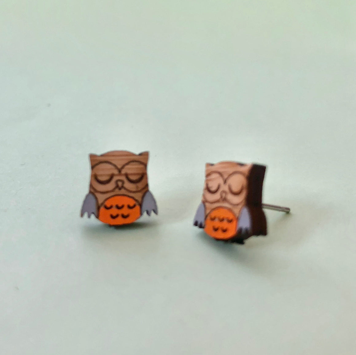 Mintcloud Earrings - Hootie Owl