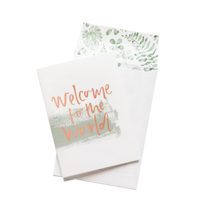 Emma Kate Co Greeting Card - Welcome to the World