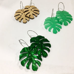 Mintcloud Dangle - Shaggy Leaf