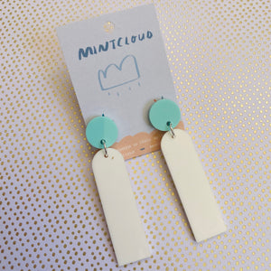 Mintcloud Stud Dangles - Princess