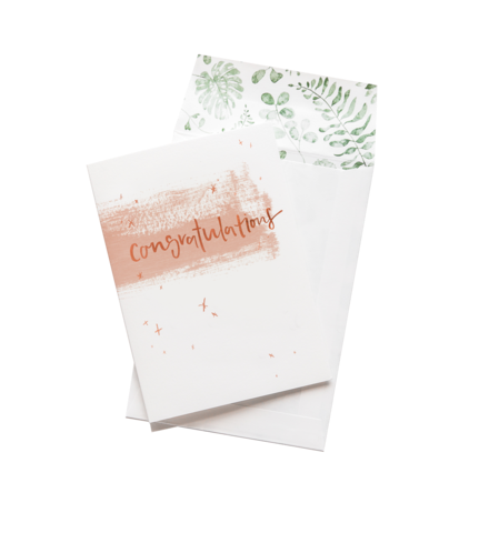 Emma Kate Co Greeting Card - Congratulations