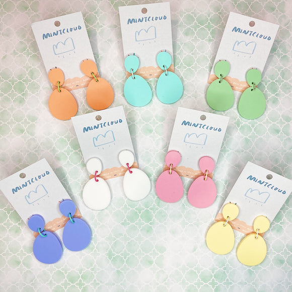 Mintcloud Dangle - Pastel Droplets from Have You Met Charlie? a gift shop in Adelaide, South Australia