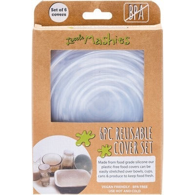 Little Mashies - 6 Piece Reuseable Cover Set