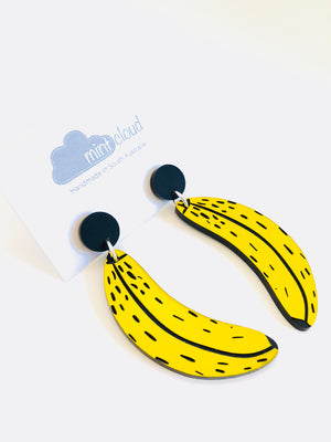 Mintcloud Earrings - Cool Banana's Dangles