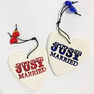 RJ Crosses Ornament - Just Married