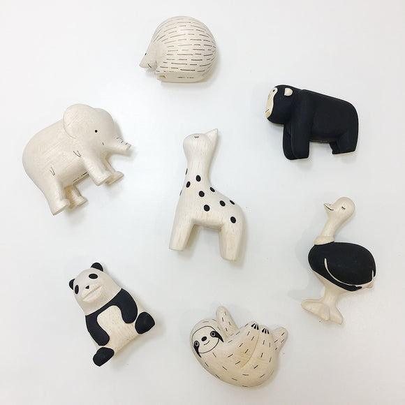 various hand carved wooden animals from australian handmade gift shop have you met charlie in adelaide south australia