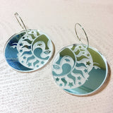 Mintcloud Earrings - Moon and Sun Dangle