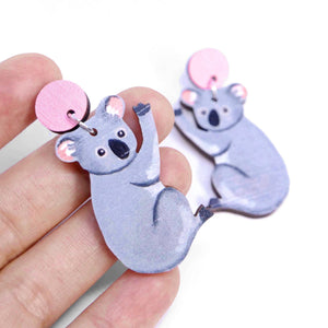 Pixie Nut & Co Dangles - Koala from have you met charlie a gift shop with Australian unique handmade gifts in Adelaie South Australia