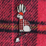 lumberjack antelope Amar and Riley cute enamel animal pins from have you met charlie a gift shop with australian unique hand made gifts in adelaide south australia