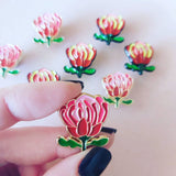 Patch Press Pins -  Flowers and Plants