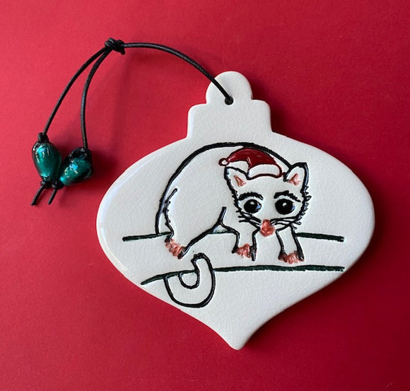 RJ Crosses Christmas Ornament - Animals
