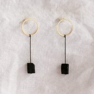 Linda Marek Designs - Facet Tourmaline Earring