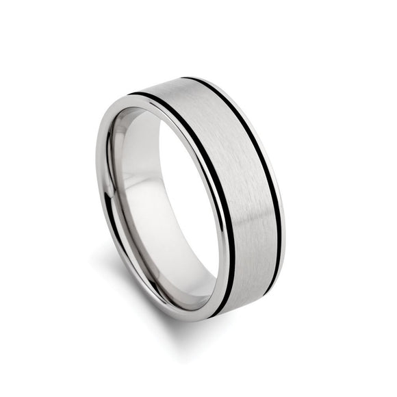 Stainless Steel Men's Ring from have you met charlie a gift shop with Australian unique handmade gifts in Adelaide South Australia