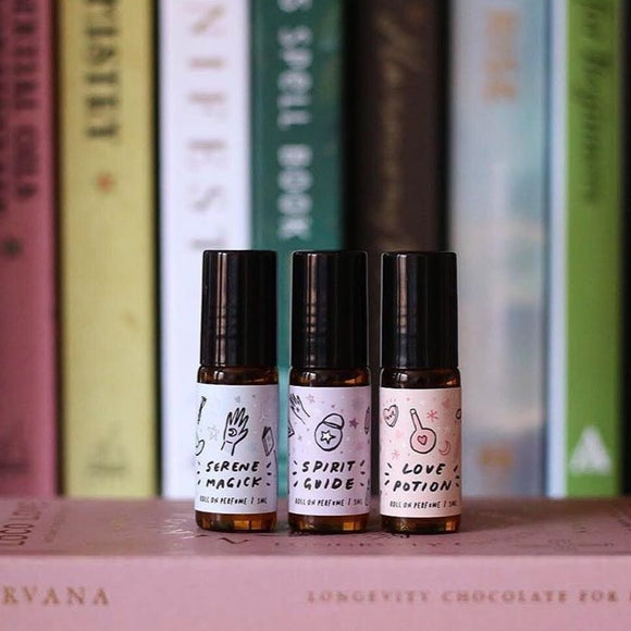 The Witch Apprentice Essential Oil Roll on Perfume from have you met charlie? a unique gift shop in adelaide, south australia