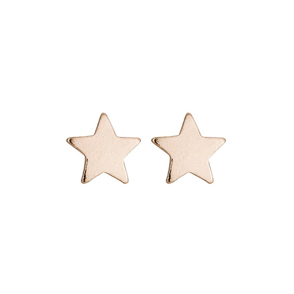 simple rose gold plated sterling silver studs from unique gift shop have you met charlie in adelaide south australia