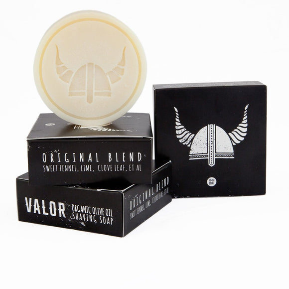 original shaving soap by shave with valor from have you met charlie a gift shop with unique handmade australian gifts in adelaide south australia