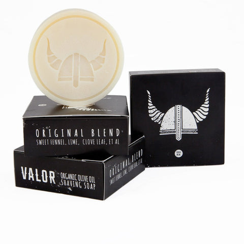 Shave with Valor - Olive Oil Shaving Soap