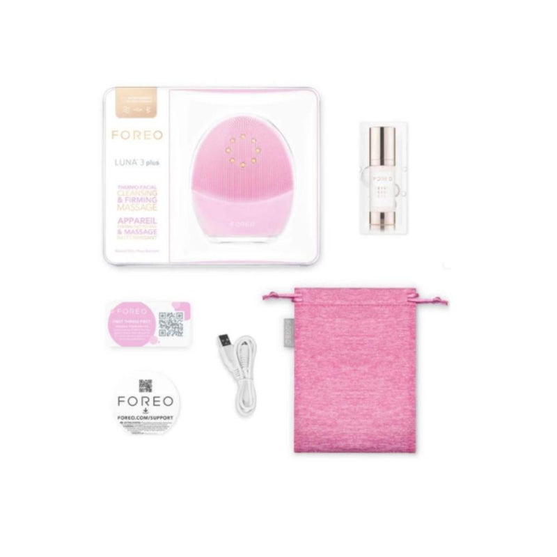 Foreo LUNA 3 Plus thermo-facial cleansing & firming massage