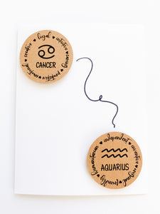 Zodiac to Zodiac Card