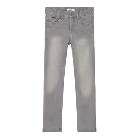 NAME IT JEANS LIGHT GREY DENIM X-SLIM FIT