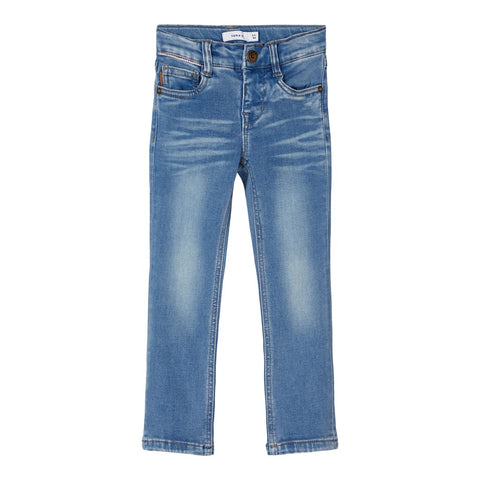 NAME IT JEANS MEDIUM BLUE DENIM POWER STRETCH X-SLIM FIT