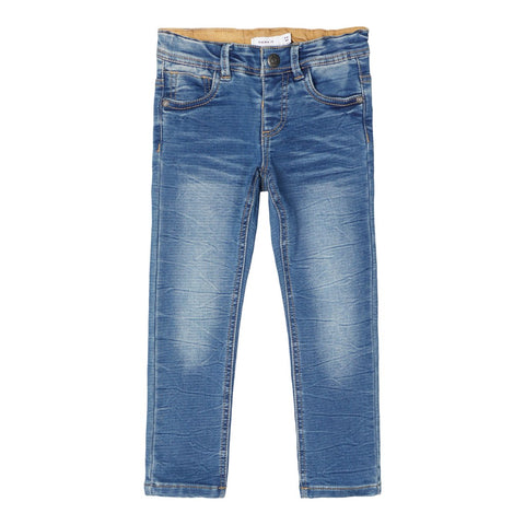 NAME IT JEANS MEDIUM BLUE DENIM X-SLIM FIT