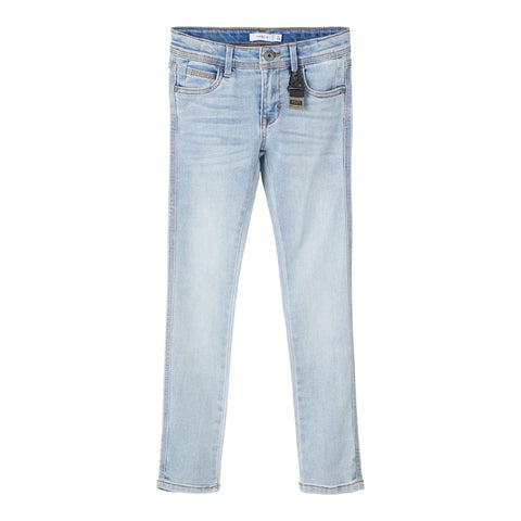 NAME IT JEANS SKINNY FIT LIGHT BLUE DENIM